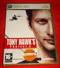 TONY HAWK'S PROJECT 8 XBOX 360 Versione Ufficiale Italiana 1ª Edizione ○ NUOVO