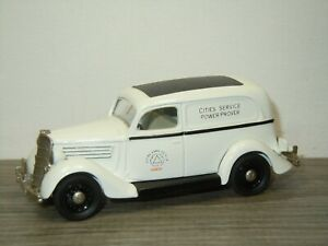 1935 Ford V8 Van Cities Service - Rextoys 1:43 *52163