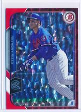 ANTHONY RIZZO 2015 BOWMAN CHROME RED ICE PARALLEL CARD #5/5