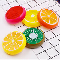 Crystal Fruit Clay Rubber Mud Intelligent Hand Gum Plasticine Slime Kid Toys US