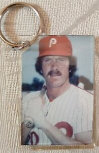 Mike Schmidt Philadelphia Phillies Photo Keychain Key Chain Large Hall of Fame