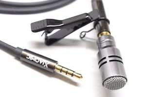 Professional Cardioid Lapel Lavalier Microphone Mic for Samsung ,Sony and iPhone