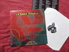 ULTIMA THULE Bombolini hey! LP +insert NEW WAVE ROCK