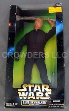 "Star Wars Action Collection 12"" Rebel Luke Skywalker in Jedi Gear Kenner '98 NIB"
