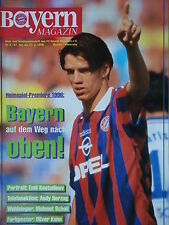 Programm 1995/96 FC Bayern München - Karlsruher SC