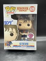 Funko Pop Television Stranger Things #829 Steve Baskin-Robins Exclusive Flawed
