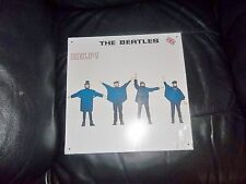 "THE BEATLES LARGE METAL "" HELP! "" ALBUM SLEEVE WALL SIGN - PLAQUE APPLE CORPS."