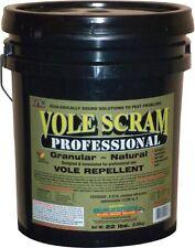Vole Repellent Vole Scram Professional 22 Lbs Natural Organic Vole Repellent