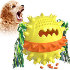 Durable Treat Dispensing, Squeaky, Bounce And Dog Teeth Cleaning Toy