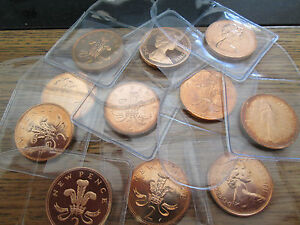 UK Proof TWO Pence 2p Mint Condition! 1970 - 2020 With Protective Wallet