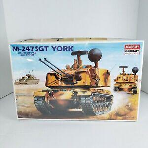 M-247 SGT York  Model 1/35 Scale Academy Model US Air Defense Gun System Korea