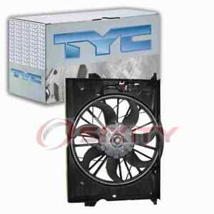 TYC Dual Radiator & Condenser Fan Assembly for 2003-2005 Mercedes-Benz E320 vn