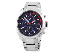 Tommy Hilfiger Men's Preston Watch - Silver