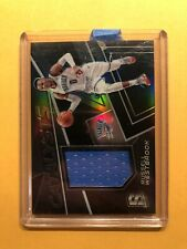 Russell Westbrook - 2017-18 Spectra CATALYSTS GAME WORN SILVER PRIZM 157/199!!