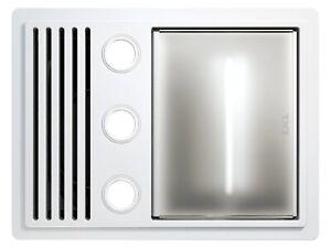 IXL Tastic Ovation - 3 in 1 Bathroom Heater, Exhaust Fan & Light