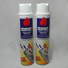 2 x Newport Butane Gas Extra Purified Zero Impurities Fuel Torch Lighter Refill