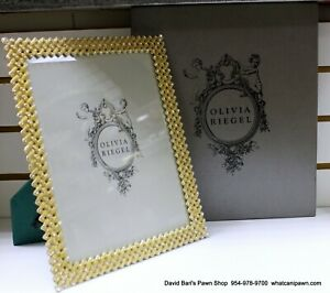 "OLIVIA RIEGEL Crystal ""Alexis"" 8x10 Photo Frame"