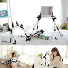 Foldable Desk Floor Stand Bed Tablet Holder Mount for iPad 3/4/Air 1/Air 2/ Mini