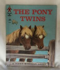 Vintage 1964 Hardcover Tip-Top Elf Book - The Pony Twins - #8659
