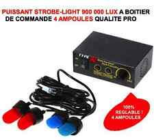STROBE LIGHT 4 LED 900 000 LUX REGARDEZ LA VIDEO! 4X4 HDJ PATROL JEEP LAND RANGE