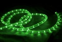 LED Green Rope Light Duralight Tube Light Outdoor Indoor Use Static Effect