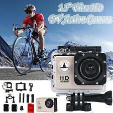 "1.5"" Ultra HD 1080P Sports DV Action Camera Waterproof Camcorders Video Recorder"