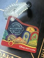 2011 EPCOT Food & Wine Gift Card $0 Value Disney World Passport