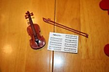 Barbie Violin & Bow Set-Used-Sold as is