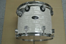 """Add this 14"""" Pdp Pacific by Dw White Onyx Cx Suspended Tom to Your Drum Set A910"""