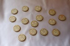 "Wooden Wedding  ""Love Hearts"" Laser cut mixed centrepieces"