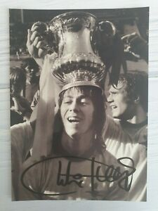 SIGNED PHOTOGRAPH Photo CHARLIE GEORGE 1971 Arsenal Football FA CUP Autograph