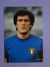 CARTOLINA POSTCARD CALCIO ITALIA SCIREA CAMPIONI DEL MONDO 1982 NEW-FIO