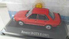 IXO Altaya Augustin Renault 18 GTX II 1987 scale 1/43 color red