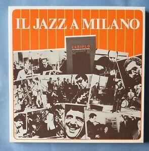 IL JAZZ A MILANO Cerri, Gianni Basso,Enrico Intra ecc. - box 3 LP  NM