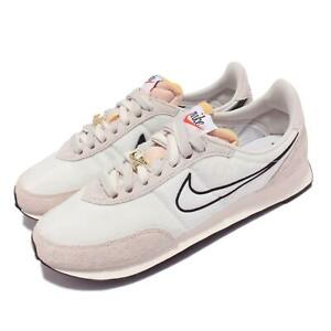 Nike Waffle Trainer 2 Sail Black Light Bone Men Casual Shoes Sneakers DH4390-100