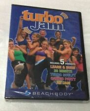 TURBO JAM 5 Rockin' Workouts BEACHBODY NEW 2-DVD Set, 2005. Ships Fast !