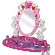 Specchio da tavolo con luci suoni specchiera gioco per bambina gioielli make up