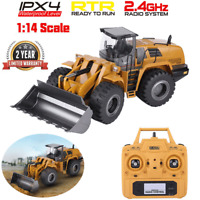 Alloy 1:14 HUINA 583 2.4G RC Toy Excavator Engineering Truck Vehicle Model Gift