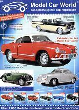 Model Car World S10 Prospekt 2000er Modellautos brochure model cars prospectus