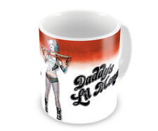 Suicide Squad Harley Quinn Daddy´s Lil Monster Kaffee Becher Coffee Mug Tasse