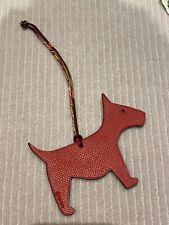 Hermes Petit H Dog Bag Charm PM Rouge/dove