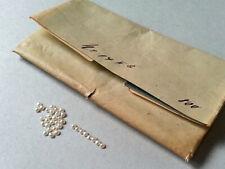 Saatperle 10 Stk. ∅ 1,0mm , für Antikschmuck, Halbperle,  Lagerbestand