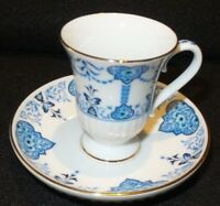 Vintage Avon 1984 European Tradition Collection Porcelain Demitass Cup & Saucer