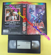 VHS MAGNUM The sacre hour Live BOB CATLEY 1985 SPECTRUM (VM2) no mc dvd lp