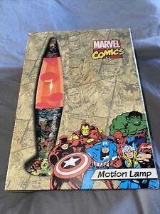 Marvel Comics Motion Lamp Boxed Working New