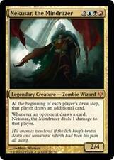 NEKUSAR, THE MINDRAZER Commander 2013 MTG Gold Creature — Zombie Wizard MYTHIC