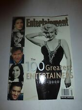 MARILYN MONROE ENTERTAINMENT WEEKLY 100 GREATEST ENTERTAINERS LOADED BOOK B224