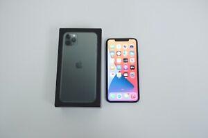 Apple iPhone 11 Pro Max 256GB Midnight Green (Unlocked / A2161) 91% Batt SUPERB