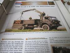Archiv Militärfahrzeuge schwere Rad Kfz Niederlande 39.1 DAF YA 4442/5444 DNT