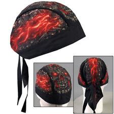 Biker Kopftuch Bandana Headwrap Made of Skulls Skull Totenkopf Flammen Mütze NEU